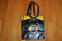 NHL Network Boston Bruins Exclusive Reusable Vinyl Tote Bag NEW