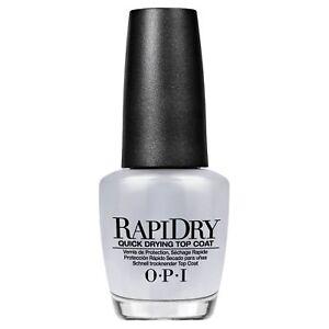 opi vernis à ongles rapidry quick drying top coat 3.75ml