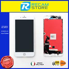 DISPLAY SCHERMO LCD TOUCH ORIGINALE TIANMA Per Apple iPhone 8 Plus Bianco/White
