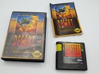Desert Strike: Return to the Gulf (Sega Genesis, 1992)  Complete in Box - CIB