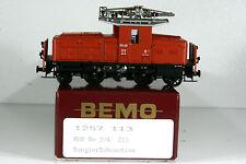 BEMO 1257 113 Rangierlok, E-Lok, RhB Ge 2/4 213, Spur H0m, 12mm, Top, OVP