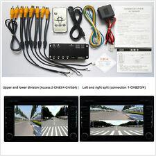 Delantera/trasera/derecha/izquierda de cámara de estacionamiento Video Monitoreo De Vista Completa alrededor con cables