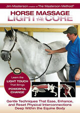 Horse Massage: Light to the Core DVD by Jim Masterson - BRAND NEW