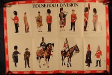Poster, British Household Division Uniforms 1976 (384Oz)