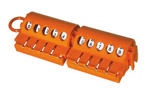 SES-Sterling Self adhesive cable markers dispenser 0-9