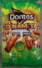 NEW DORITOS DINAMITA CHILE LIMON FLAVORED TORTILLA CHIPS 11 1/4 OZ BAG FREE SHIP