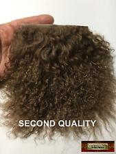 M01331 Morezmore Hair Tibetan Lamb Seconds Walnut Brown Doll Baby Hair Wig