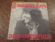 45 tours david copperfield summer days