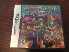 Mario and Luigi Partners In Time (Nintendo DS) Complete 3DS Kids Rare RPG