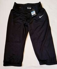 $40 WOMEN'S NIKE DRI-FIT BLACK SOFTBALL/BASEBALL PANTS SIZE M 700877-010 ~ NWT