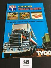 245 - A4 Tyco folder electrisch vrachtrijden - de sensatie van het echte trucken