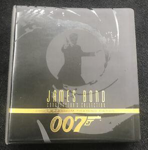 1996 INKWORKS JAMES BOND 007 ALL THREE VOLUMES #1-#270 WITH CONNOISSEUR'S ALBUM