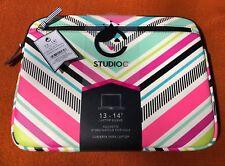 Laptop Sleeve 13-14'' StudioC New Free Shipping