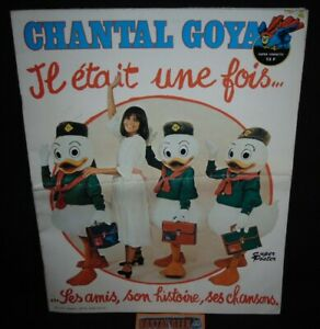 Chantal Goya / Il était une Fois / Super Poster Super Chouette / Complet TBE!