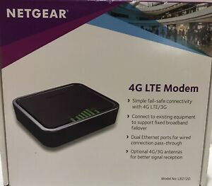 Netgear LB2120-100AUS 4G LTE/3G Modem with Dual Ethernet Ports *AU STOCK*