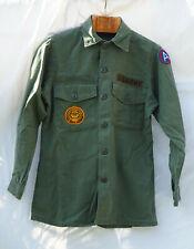US Utility shirt OG 107 - Small - 1967 Vietnam war