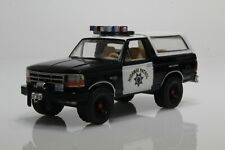 1995 Ford Bronco California Highway Patrol State Police 1:64 Scale Diecast Model
