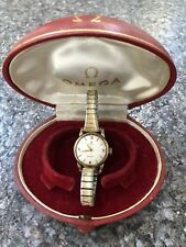 Vintage Womens Omega Geneve Watch With Flexible Strap - Working