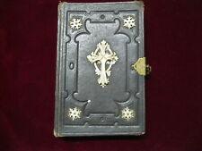 Altes Tschechisches Gebetbuch Gebetsbuch tschechisch antik Verschluss Verzierung
