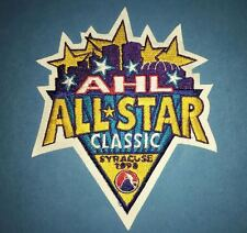 1998 AHL Hockey All Star Game Syracuse Crunch New York CCM Jersey Shoulder Patch