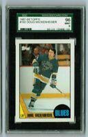 DOUG WICKENHEISER 1987-88 Topps Hockey SGC MINT 96/9 & Bonus Cards always added