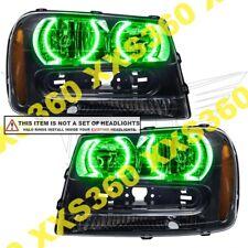 ORACLE Headlight HALO RING KIT Chevrolet TrailBlazer 02-09 GREEN LED Angel Eyes