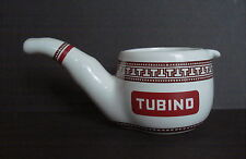 GRANDE PIPA POSACENERE CAFFE' TUBINO 17CM CERAMICA MARMACA SAN MARINO  VINTAGE
