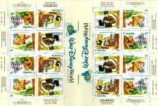 1996 Winnie The Pooh/ Walt Disney World - BK194 Booklet of 16 complete