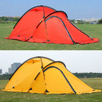 Hillman Ultralight Double Layer Camp Tent 2 Person Hiking Waterproof 4 Season US