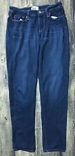 Paige Skyline Ankle Peg Jeans Skinny Dark Wash Stretch  Sz 27 Inseam 28 130.297