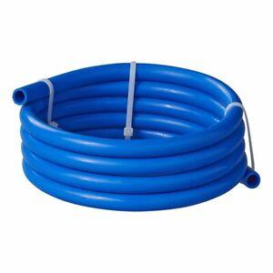 Trinkwasserschlauch Schlauch Camping blau 10 mm 2,5 m Rolle Wasserleitung