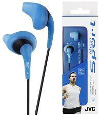 JVC HAEN10 BLEU Gumy Sorts écouteurs intra-auriculaires Sweat à L'Epreuve