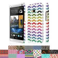 For HTC One M7 Design Patterns Ultra Thin Hard Case Cover Protector