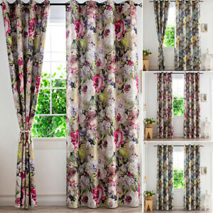 Blockout Curtains Blackout Bedroom Curtain Draperies Eyelet for Living Room