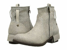 UGG Italian Collection Stella Ankle Boot  Size 8 Taupe NIB