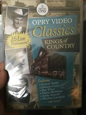 Opry Video Classics - Kings Of Country Music NEW/sealed region 4 DVD