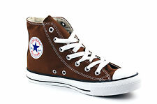 Da Donna Converse Chuck Taylor All Star Hi Tops misure UK 4 Marrone Cioccolato.