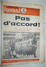 FRANCE FOOTBALL 1265 30/06 1970 MEXICO 70 BRESIL PELE DIDI PEROU MUNTIAN URSS