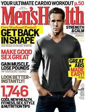 Men's Health Magazine Ryan Reynolds Deadpool Justin Bruening Malin Ackerman