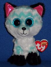 """TY BEANIE BOOS - PIPER the 6"""" FOX - CLAIRE'S EXCLUSIVE - MINT w/ NEAR MINT TAG"""