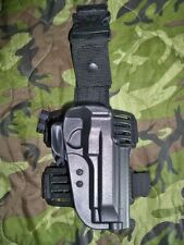 Uncle Mike's Beretta 92 96 Tactical Leg Thigh Holster 5920-1 Kydex Right Hand