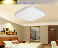 Bedroom Modern Square LED Ceiling Light 20W Living Room Surface Mount Fixture US