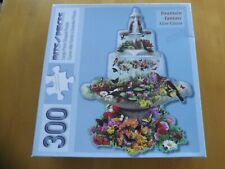 Bits & Pieces Puzzle New 300 LARGE Pieces Shaped FOUNTAIN FANTASY