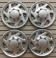 1995-2011 FORD TRUCK F250 F350 Van E250 E350 Wheelcover Hubcap Set NEW