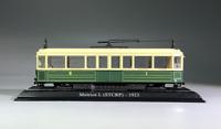 1:87 Urban Rail Trolley Motrice L (STCRP)-1923 Static Display 3D Plastic Model