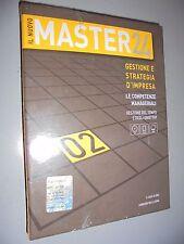 IL NUOVO MASTER 24 CD ROM+BOOK N°2 GESTIONE E STRATEGIA D'IMPRESA IL SOLE 24 ORE