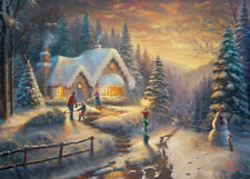 Gibsons pays Noël Homecoming Thomas Kinkade 1000 Piece Jigsaw Puzzle