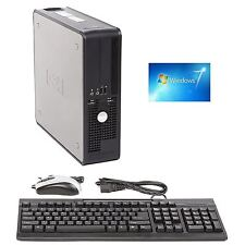 Dell SFF Desktop Computer PC Core 2 Duo 2.33GHZ 4GB 160GB Windows 7 PRO