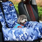 Cat Medium Dog Pet Car Booster Seat Cushion Cover Carrier Protector Camouflage