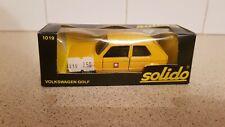 SOLIDO - VOLKSWAGEN GOLF 1/43 scale NO.1019